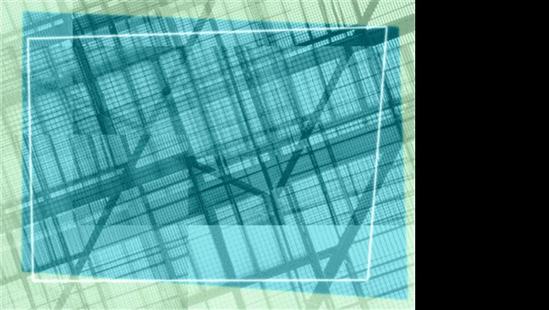 Modelo de apresentação Geométrico