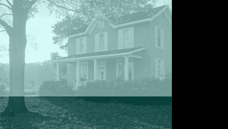 Modelo de apresentação Casa antiga
