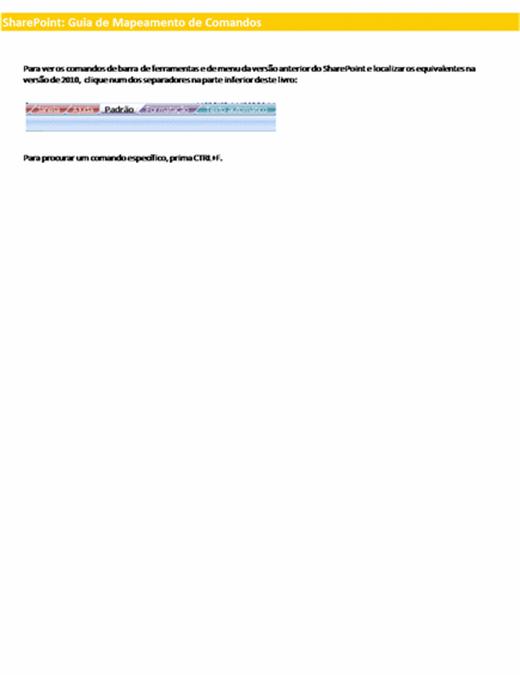 Livro de referência do friso do SharePoint Server