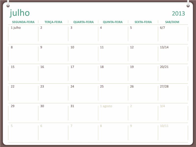 Calendário académico (julho) 2013-2014