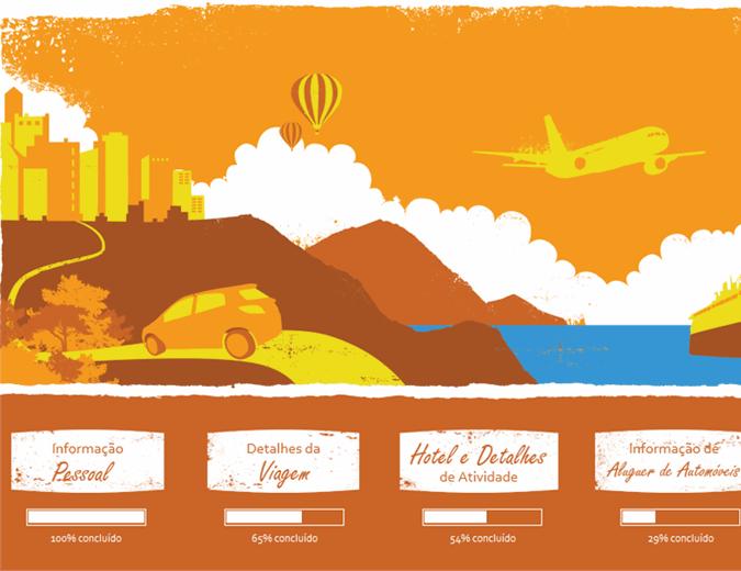 Planeador de férias