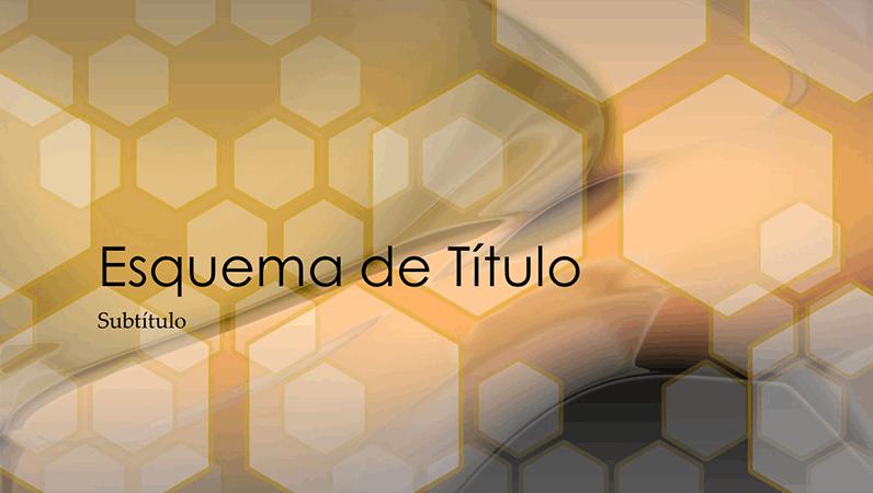 Diapositivos de estrutura hexagonal