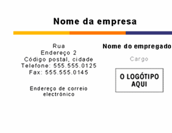 Cartão de visita (Tema do nível)