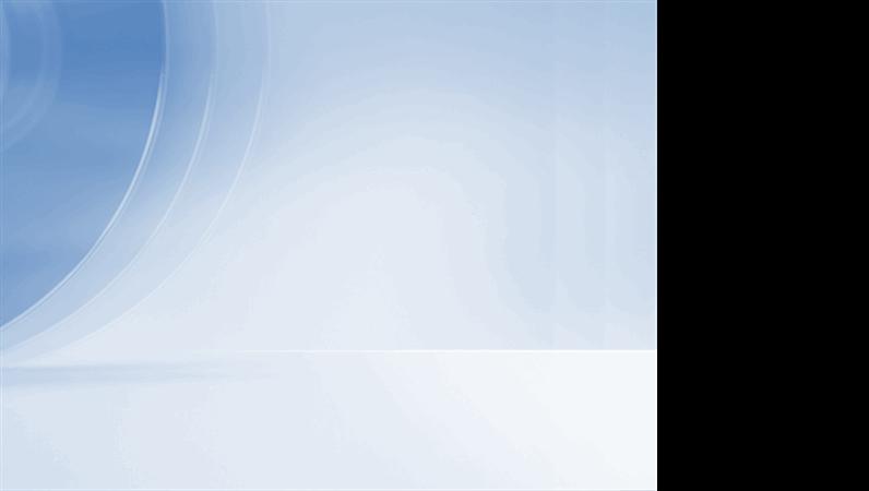 Modelo de apresentação azul contemporâneo