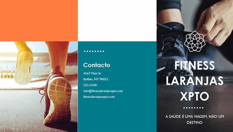 Brochura de condição física