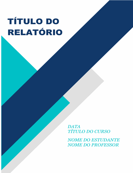 Relatório apelativo para trabalhos académicos