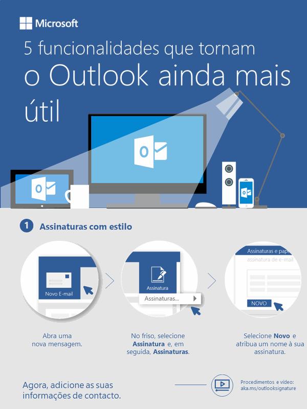 5 funcionalidades que tornam o Outlook ainda mais útil
