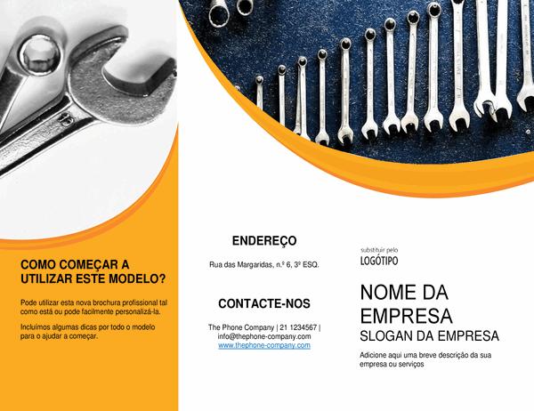 Brochura para profissionais da reparação