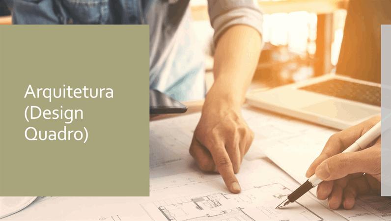 Estrutura da arquitetura