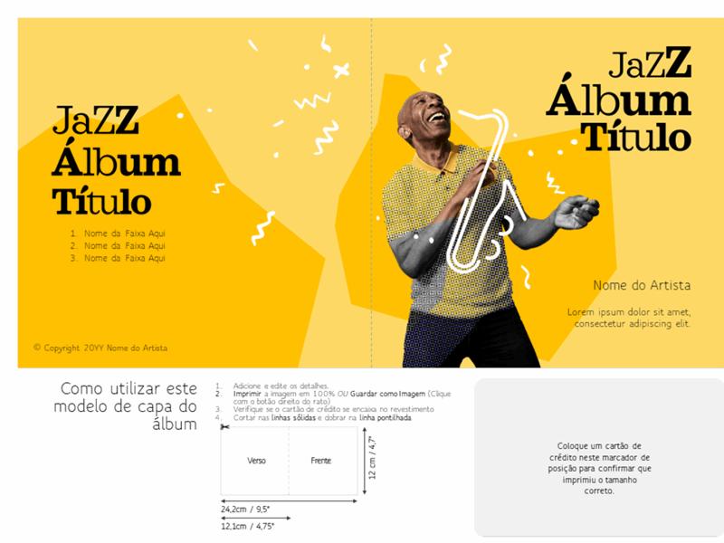 Folhas de álbuns de jazz