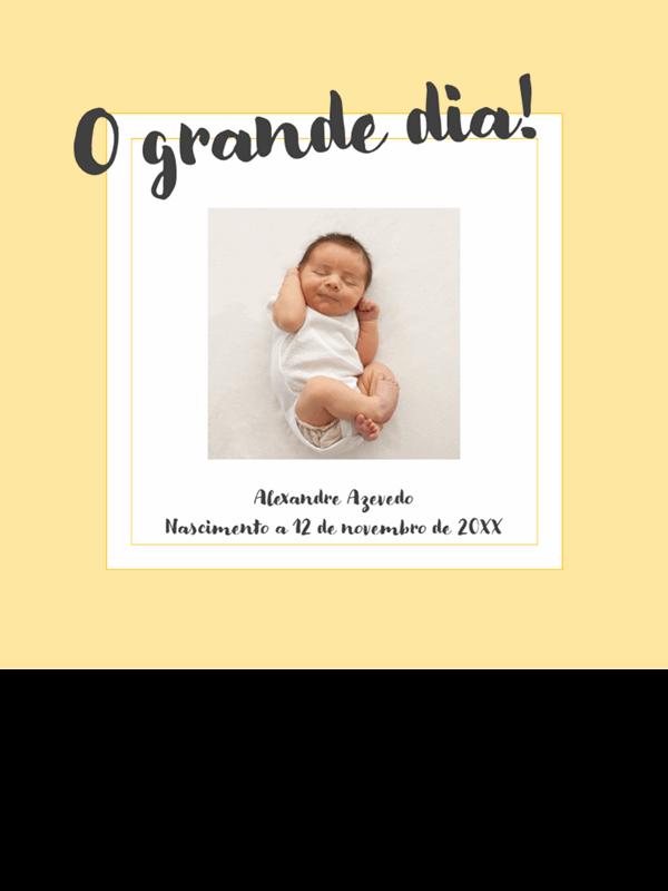 Álbum de fotografias para marcos da vida do bebé