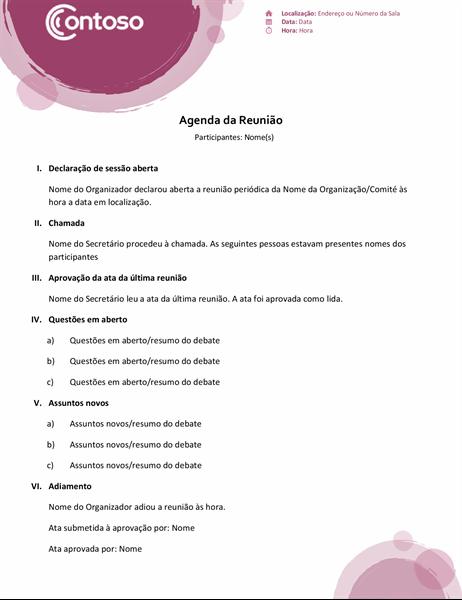 Agenda Suite Rosa