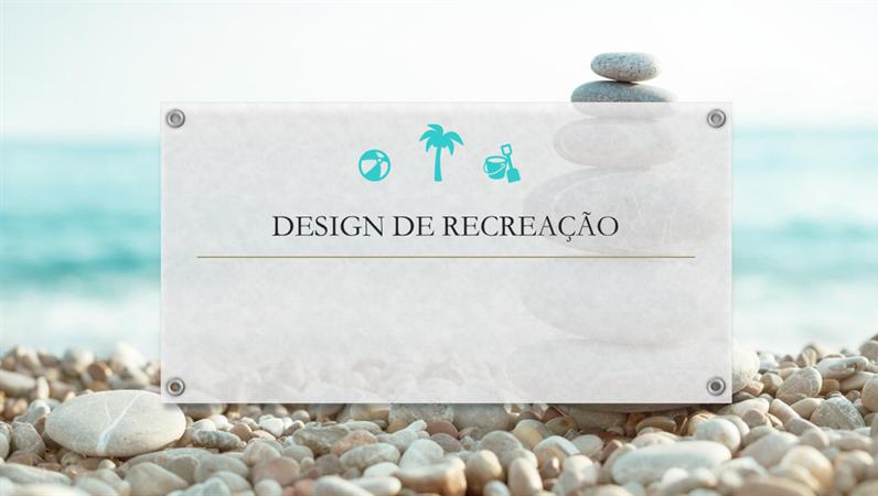Design de recreação
