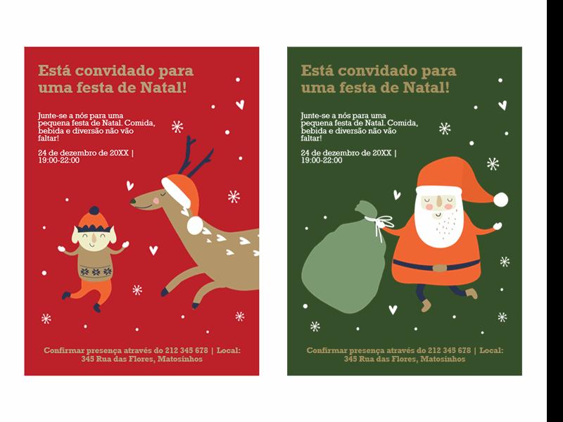 Convite para o Natal