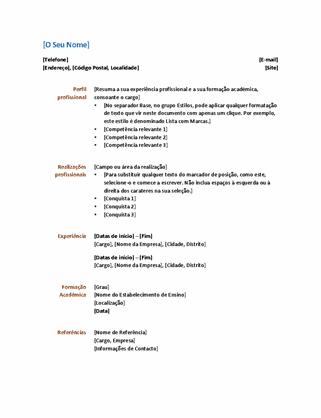 Currículo (design funcional)