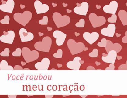 Cartões do dia de São Valentim