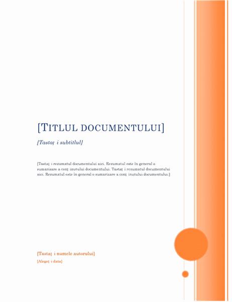 Raport (tema Foișor)
