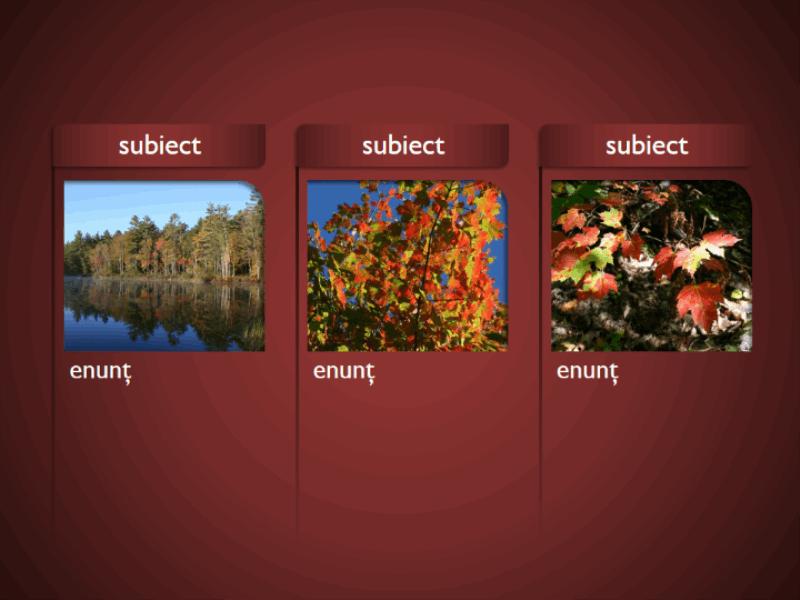 Ilustrație SmartArt cu imagini pe fundal roșu
