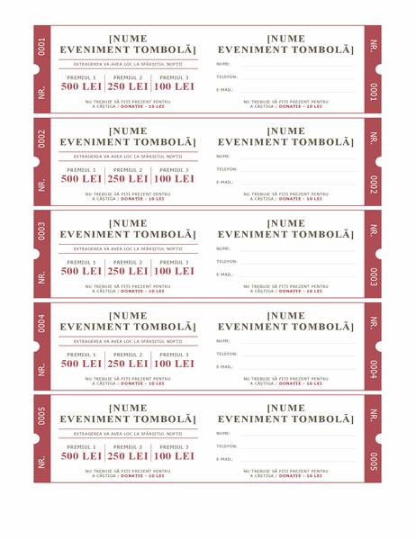 Bilete de loterie