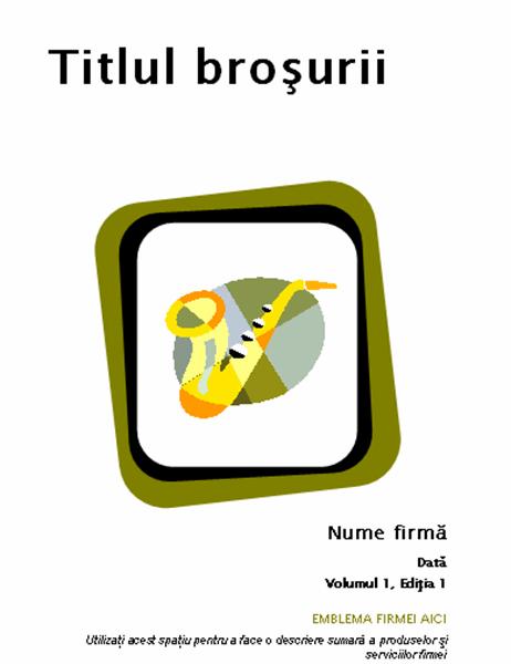 Broșură pentru produse și servicii (8 1/2 x 11, îndoită, 8 pag.)
