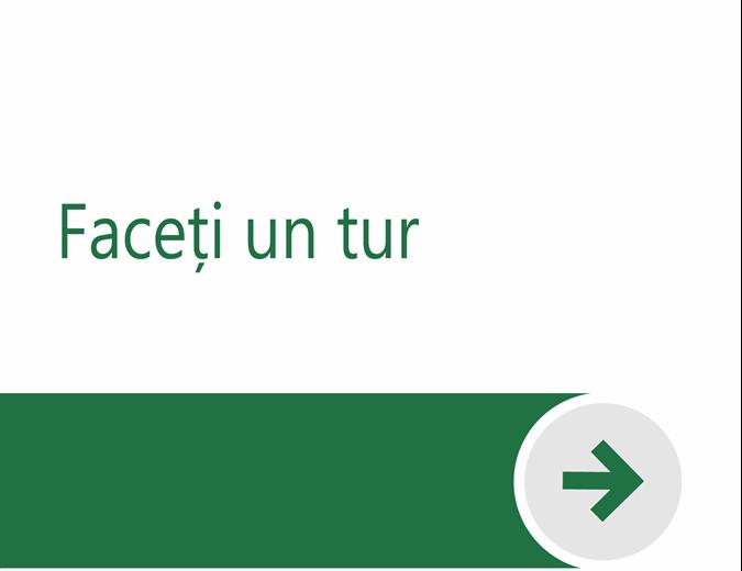 Bun venit în Excel