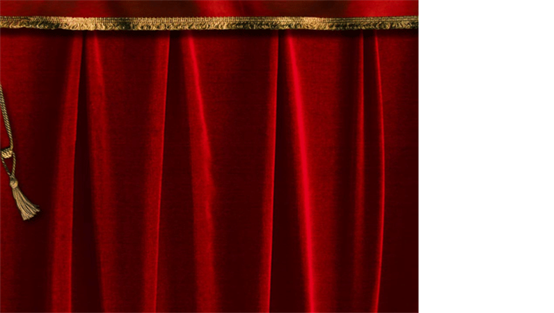 Șablon formă cortină