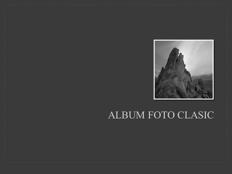 Album foto clasic
