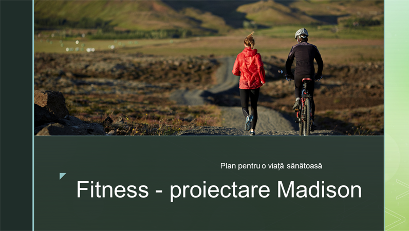 Fitness - proiectare Madison