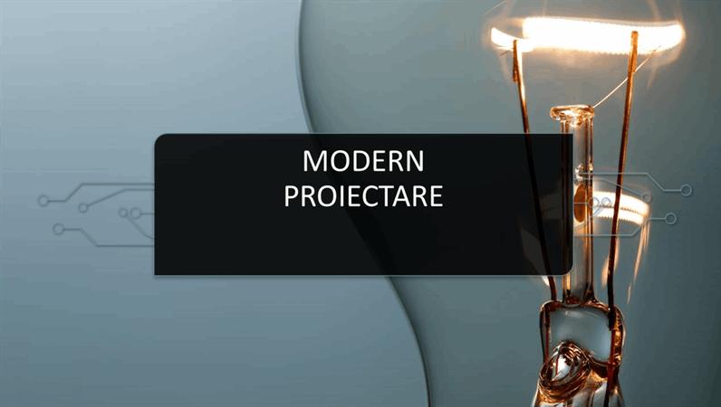 Proiectare modernă