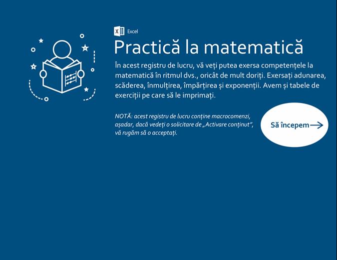 Practică la matematică