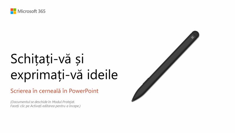 Bun venit la PowerPoint