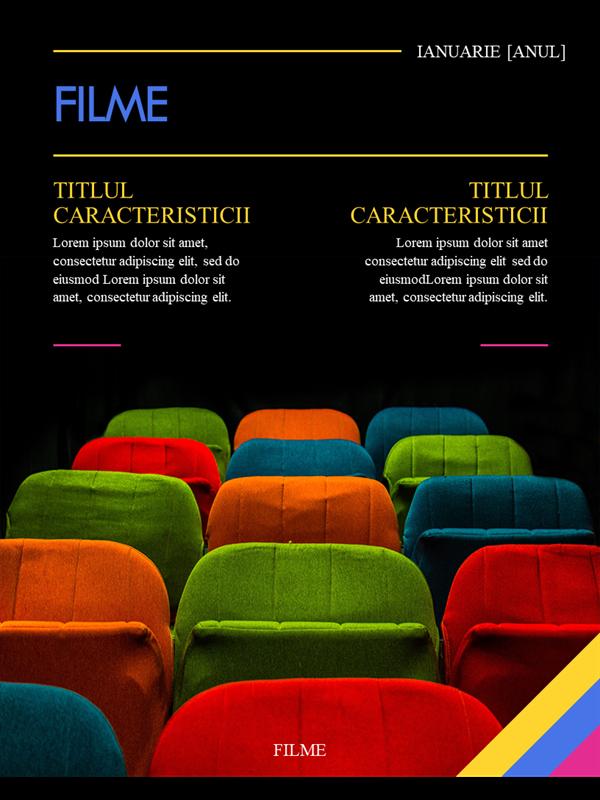 Copertă revistă film