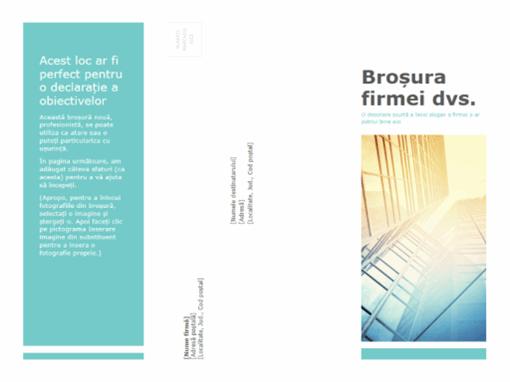 Broșură (pentru firme)