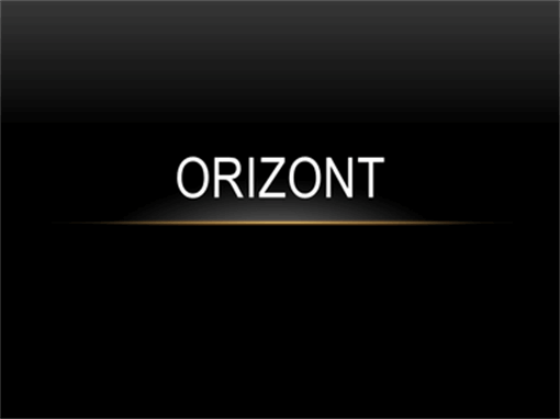Orizont