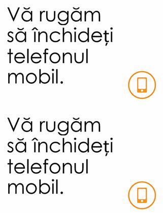 Memento de închidere a telefonului mobil