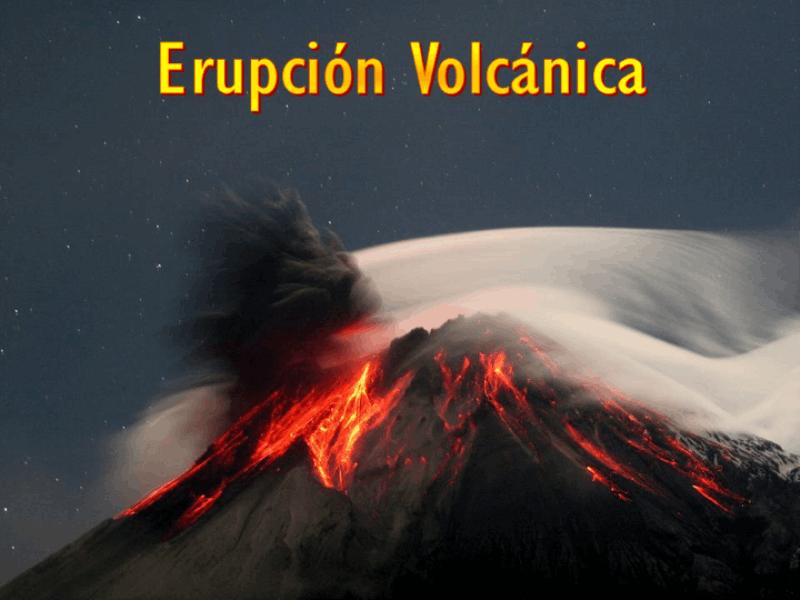 """Шаблон оформления """"Извержение вулкана"""""""