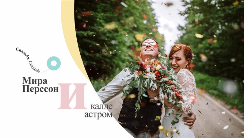 Современный свадебный фотоальбом