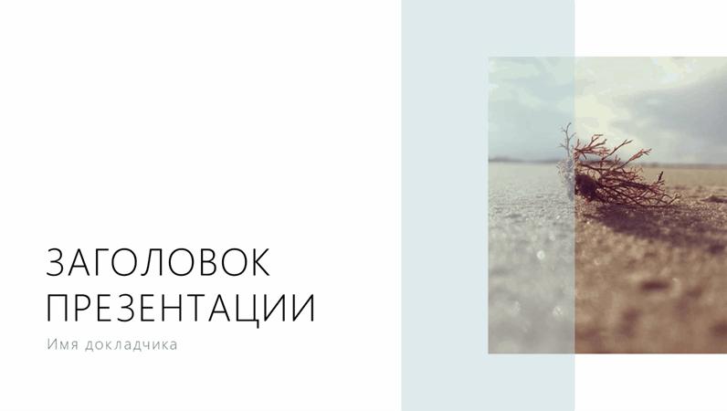 Презентация (изображение побережья)