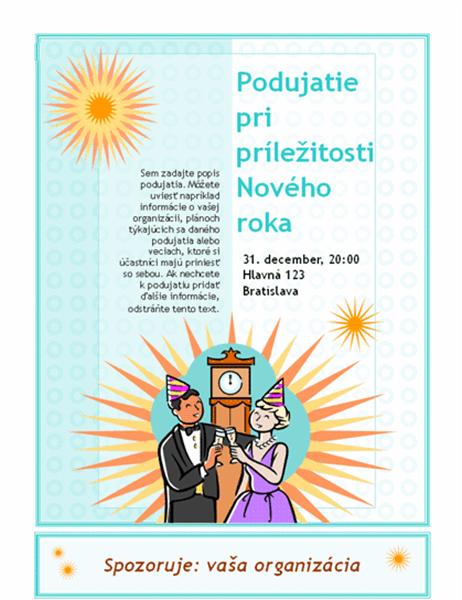 Oznámenie o podujatí pri príležitosti Nového roka