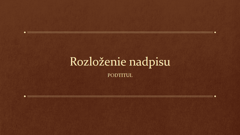 Vzdelávacia prezentácia vo formáte klasickej knihy (širokouhlý formát)