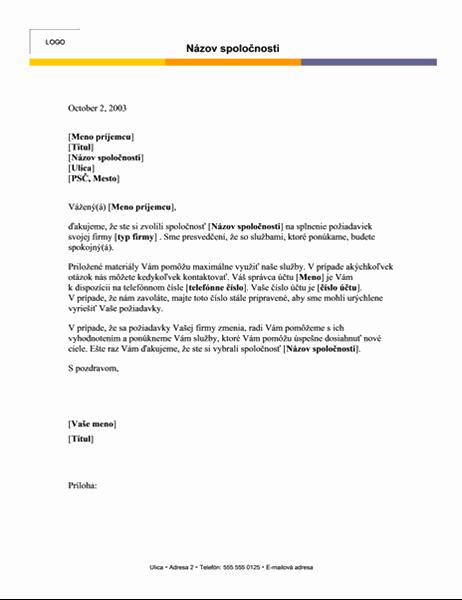 Hlavička listu (úrovňové usporiadanie)