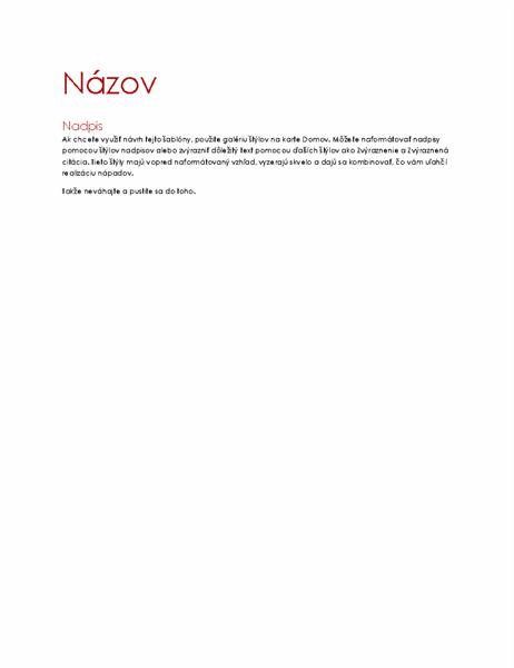 Motív Ion (prázdny dokument)