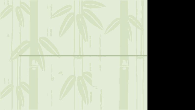 Šablóna s dizajnom bambusu 2