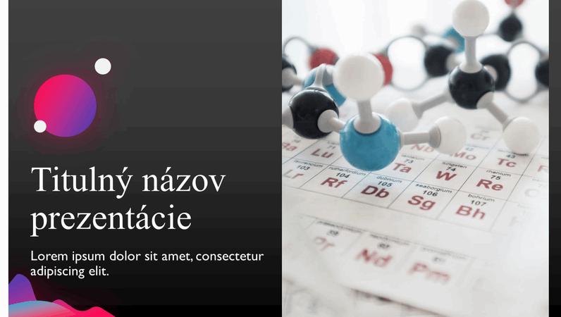 Prezentácia vedeckých záverov