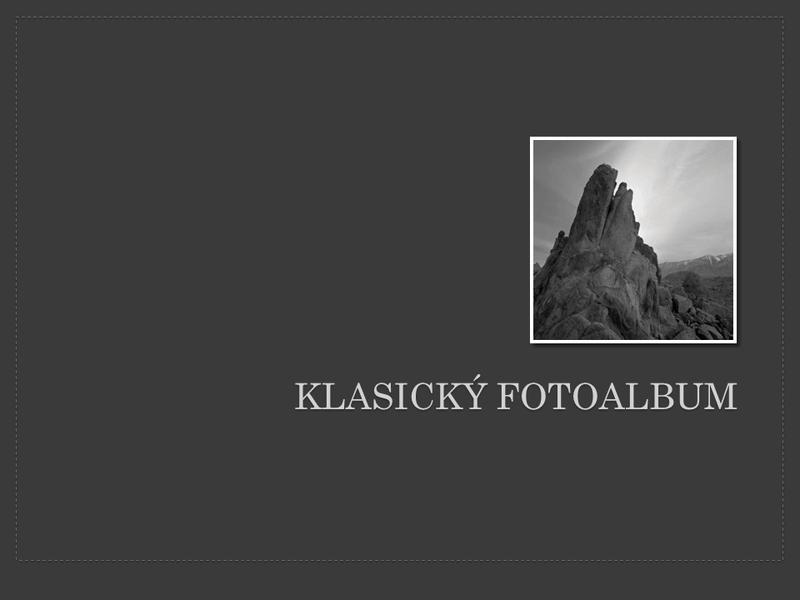Klasický fotoalbum