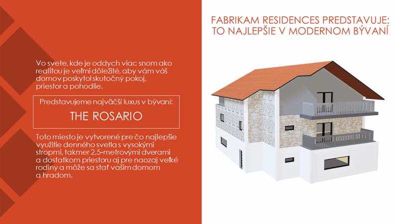 Rezidencie Fabrikam–Vrchol moderného bývania