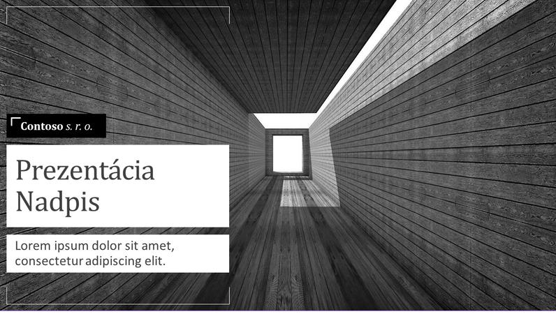 Obchodný plán – architektúra