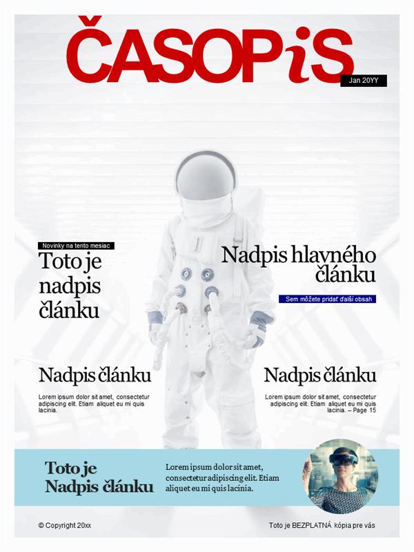 Obálky časopisu