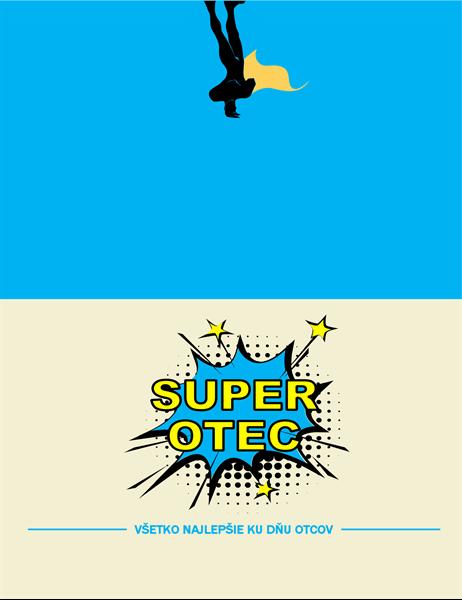 Karta ku Dňu otcov Superotec