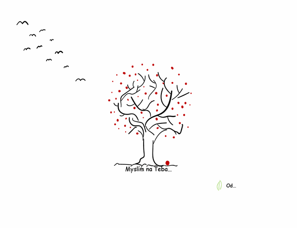 Pozdrav so stromom pochopenia
